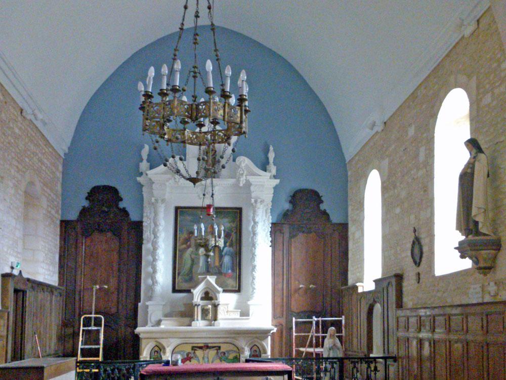 Restauration de chœur d'église